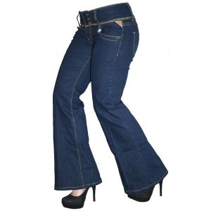 Kristen Flare Jeans | UK Size 6-8 | Petite Leg Inseam Select: 24 - 30 inches